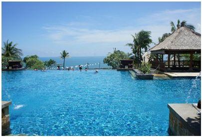 巴厘岛悬崖上的奢华度假村